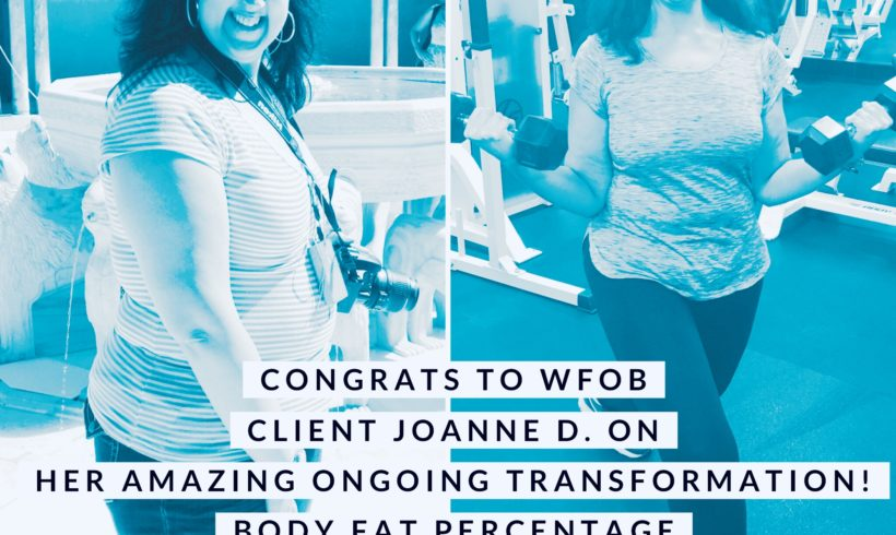 WOW! Check out Joanne D's Transformation!