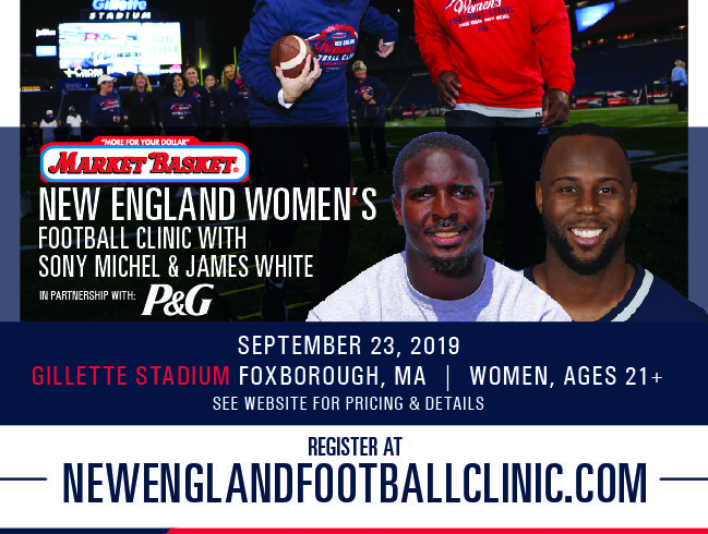 Meet Patriot Players Sony Michel & James White