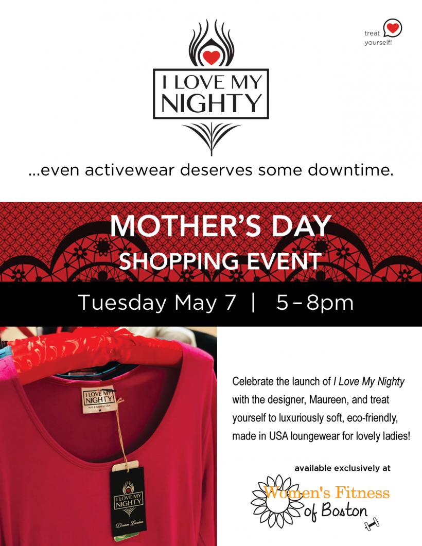 Mother's Day Shopping Event 5/7 5 – 8pm
